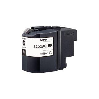 BROTHER LC-229XLBK Jumbo-Tintenpatrone für 2.400 Seiten