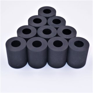 10er-Pack Kompatible Gummirolle (SCHWARZ)  für KYOCERA Pulley Pickup Assy 302HN06080 3050/3051/3500/3501/3551