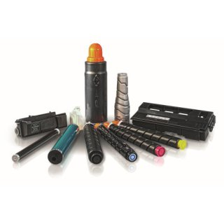 Drucktools Premium Tonerkartusche magenta für Canon C2020, C2030, C2220, C2225, C2230   C-EXV34