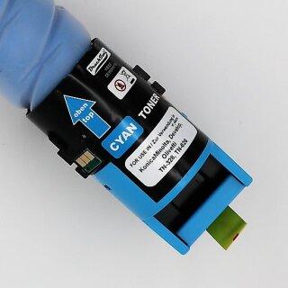 Drucktools Premium Tonerkartusche Cyan für Konica Minolta bizhub C250 i, C300 i, C360 i, C450 i, C550 i, C650 i TN-328 TN-626